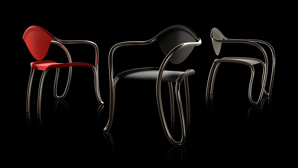 Omina chair designed by Darko Nikolić