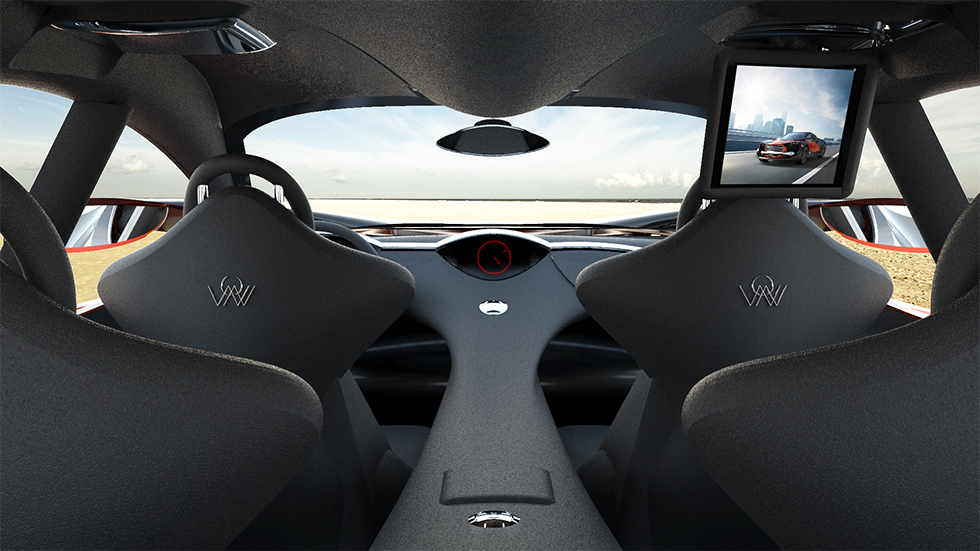 Concept car Wings of Nike designed by Darko Nikolić